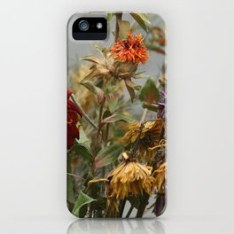 Fall Flowers iPhone Case
