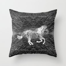 Ciel du Cheval Throw Pillow