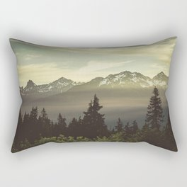 Morning in the Mountains Rectangular Pillow