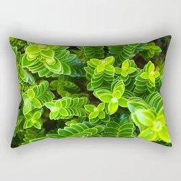 Green plant Rectangular Pillow