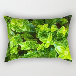 Green plant Rectangular Pillow