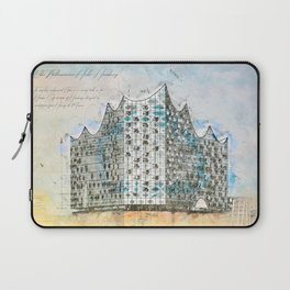 Elbe Philharmonic Hall, Hamburg Laptop Sleeve