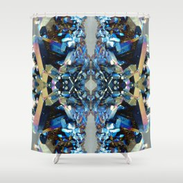 Mineral Composition 1 Shower Curtain