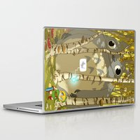 hyrule Laptop & iPad Skins featuring my neighbour in Hyrule by Andre!