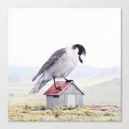 Giant Bird Canvas Print