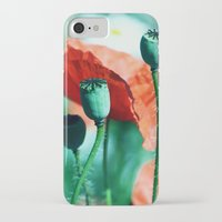 poppy iPhone & iPod Cases featuring Poppy by Falko Follert Art-FF77