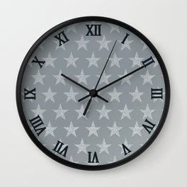 Stella (silver) Wall Clock