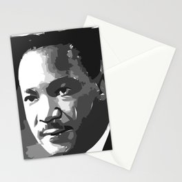 Martin Luther King Portrait Stationery Cards