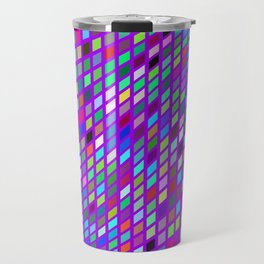 Lilac colorful Mosaic Travel Mug