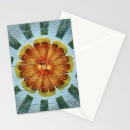 Bacterially Pattern Flower  ID:16165-042044-49241 Stationery Cards