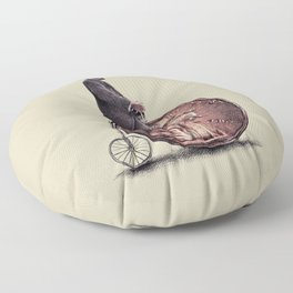 Penny Farthing Floor Pillow