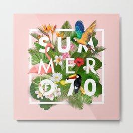 SUMMER of 70 Metal Print