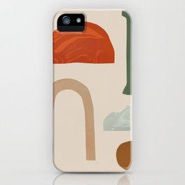 Shapes from Rome iPhone Case