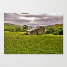 The Stone Barn Canvas Print