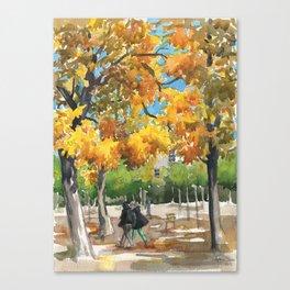 My favorite garden Canvas Print