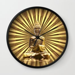 Buddha 2 Wall Clock