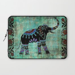Elephant Indian Asian Spiritual Bohemian Laptop Sleeve