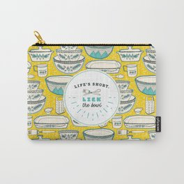 Florence's Retro Vintage Kitchen Carry-All Pouch