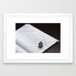 Wedding Rings  Framed Art Print