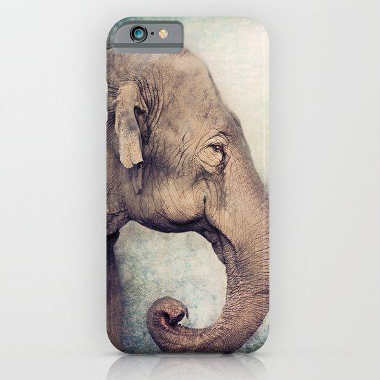 The smiling Elephant iPhone & iPod Case
