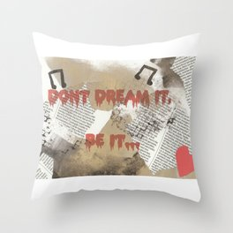 Rocky Horror - Don't Dream It... Throw Pillow