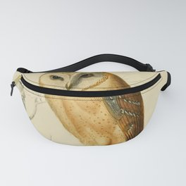 Naturalist Barn Owl Fanny Pack