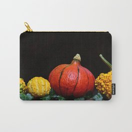 Yellow and orange  pumpkin Carry-All Pouch
