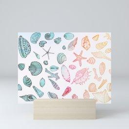 Mollusk madness Mini Art Print