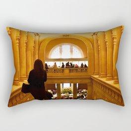 Halls of History Rectangular Pillow