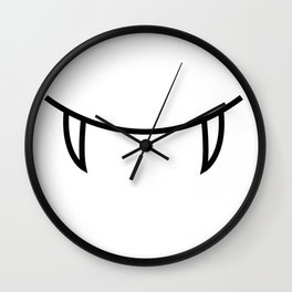 Smile 3 Dracula Wall Clock