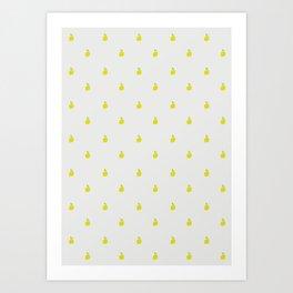 Limón Art Print