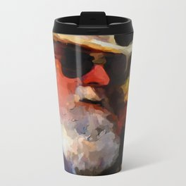old timer Metal Travel Mug
