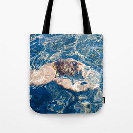 Underwater diffraction Tote Bag