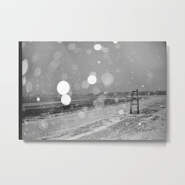 Short Beach Metal Print