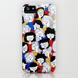 Fashion pattern iPhone Case