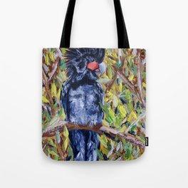 Palm Cockatoo Tote Bag