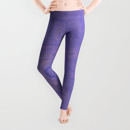 Beautiful lavender kaleidoscope Leggings