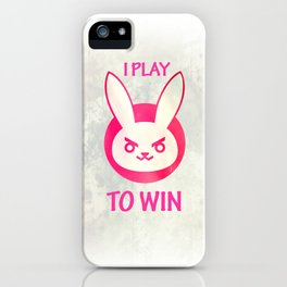 I play to win iPhone Case