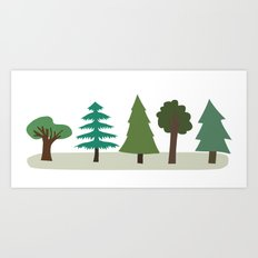 Tree Design Art Print