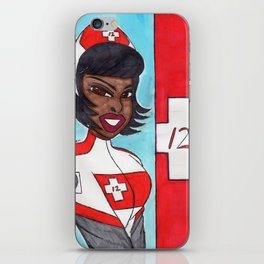 Tactical Rescue Nurse Laura 009 iPhone Skin