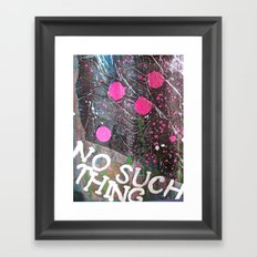 NSG Framed Art Print