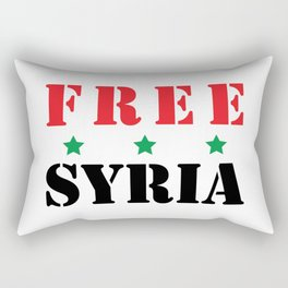 FREE SYRIA Rectangular Pillow