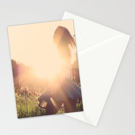 Young Girl Stationery Cards