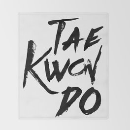 Tae-Kwon-Do Throw Blanket