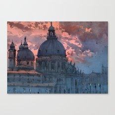 Venice romance Canvas Print