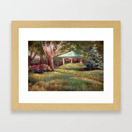 Late Spring Framed Art Print