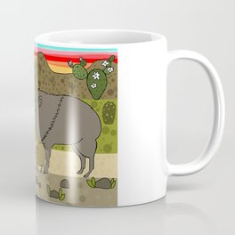 Javelinas in The Sonoran desert Coffee Mug