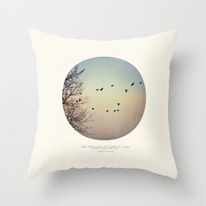 Caged Birds Throw Pillow