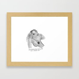 censor-shipped Framed Art Print