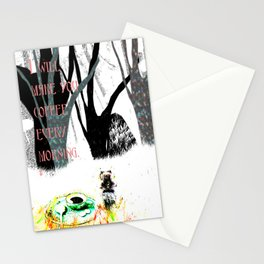 good morning my dear Stationery Cards